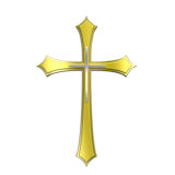 animated gold cross