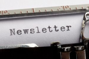 Typed on paper Newsletter